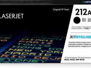 HP W2120A Toner Black 5,5k No.212A (Eredeti)