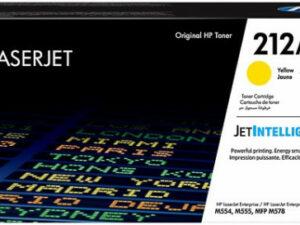 HP W2122A Toner Yellow 4,5k No.212A (Eredeti)