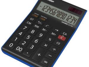 Sharp EL145TBL számológép