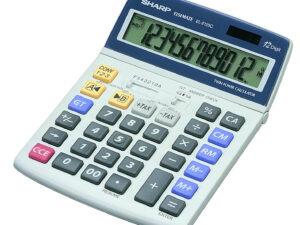 Sharp EL2125C számológép