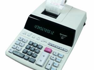 Sharp EL2607 számológép szalagos