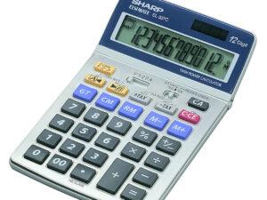Sharp EL337C számológép