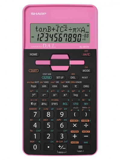 Sharp EL531THBPK számológép Tudományos (Rózsaszín)