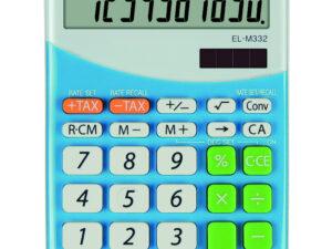 Sharp ELM332BBL számológép (Kék)