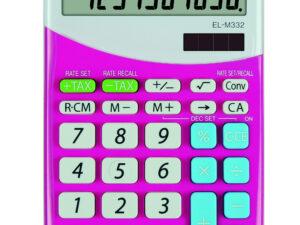Sharp ELM332BPK számológép (Rózsaszín)