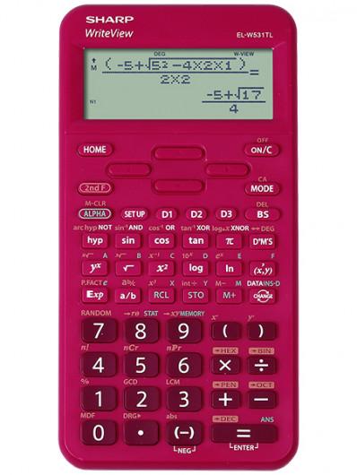 Sharp ELW531TLBR számológép Tudományos (Piros)