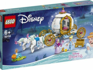 LEGO Disney Hamupipőke királyi hintója 43192