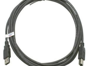 Roline USB A-B 2.0 3m fekete kábel