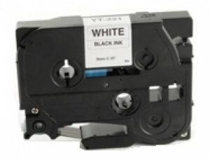 BROTHER TZe221 szalag Black/White 9mm x 8m DOR (For use)