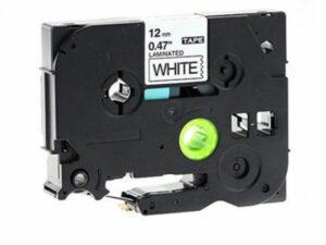 BROTHER TZe231 szalag  Black/White 12mm x 8m DOR (For use)