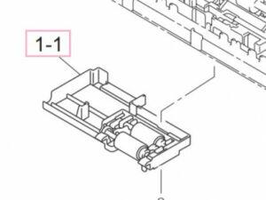 BR LEH089001 ADF Roller assy DCP1615