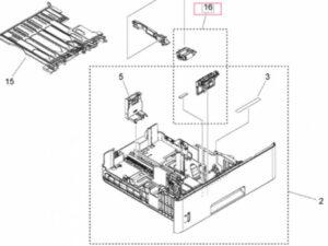 CA FM1-X510 Pickup roller set IR1643
