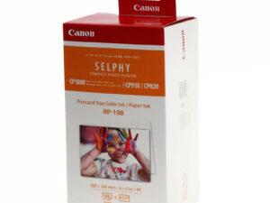 Canon 10x15 RP-108IN papír+festék