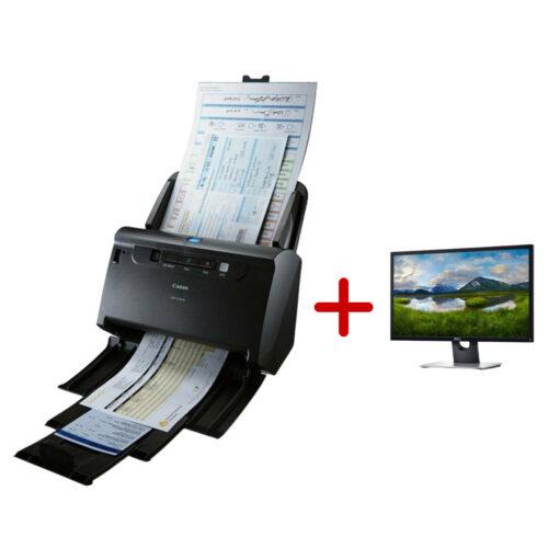 Canon imageFORMULA DR-C240 dokumentum szkenner + DELL monitor ajándékcsomag!