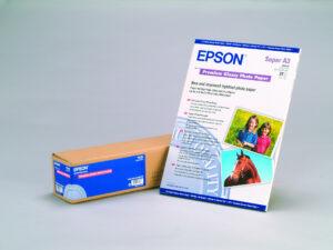 Epson 24x30,5m Fényes Tekercspapír 166g/m2