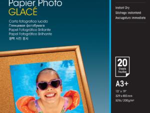 Epson A/3+ Fényes Fotópapír 20Lap 200g (Eredeti)