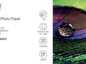 Epson 24x30m Fényes Fotópapír 200g
