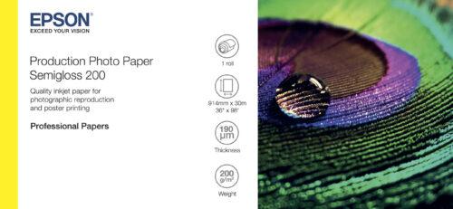 Epson 36x30m Félfényes Fotópapír 200g