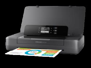HP OfficeJet 200 A4 színes tintasugaras egyfunkciós hordozható nyomtató fekete