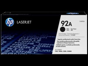 HP C4092A Toner Black 2,5k No.92A (Eredeti)