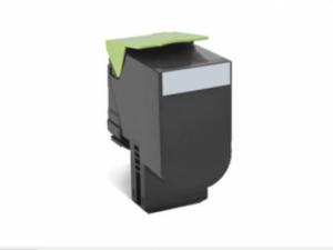 Utángyártott LEXMARK CS310,410 Toner Black 4.000 oldal kapacitás IK (New Build)