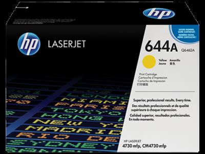 HP Q6462A Toner Yellow 12k No.644A (Eredeti)